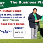 Make Money with Sante Pure Barley