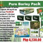 Pure Barley Pack