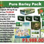 how to become a pure barley distributor